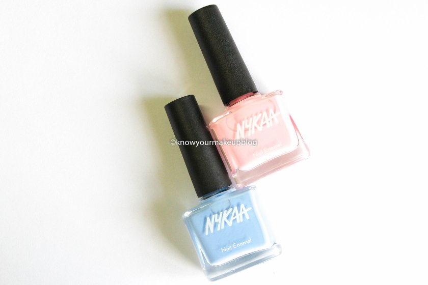 Nykaa Pantone Color of the Year Combo Nail Paints Serenity and Rose Quartz