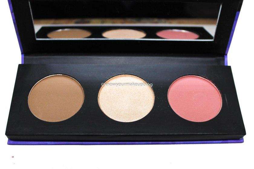 Shade of Sugar Cosmetics Contour De Force Face Palette 01 Subtle Summit